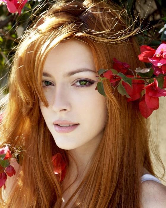 красивые рыжеволосые женщины картинки
