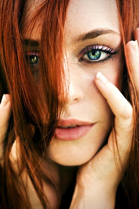 Очень красивые рыжие девушки фото фото 538-10