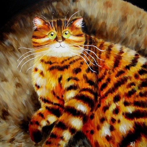 смешные коты Kim Haskins 4 (500x500, 201Kb)