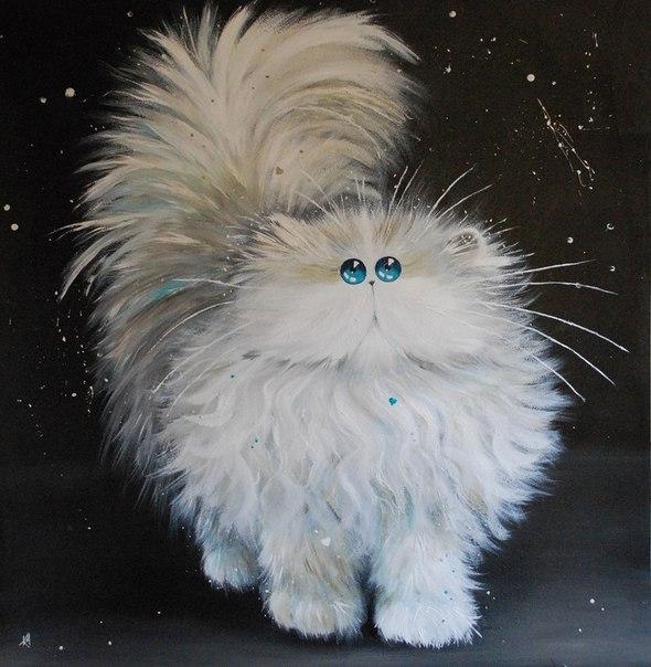 смешные коты Kim Haskins 14 (590x604, 187Kb)