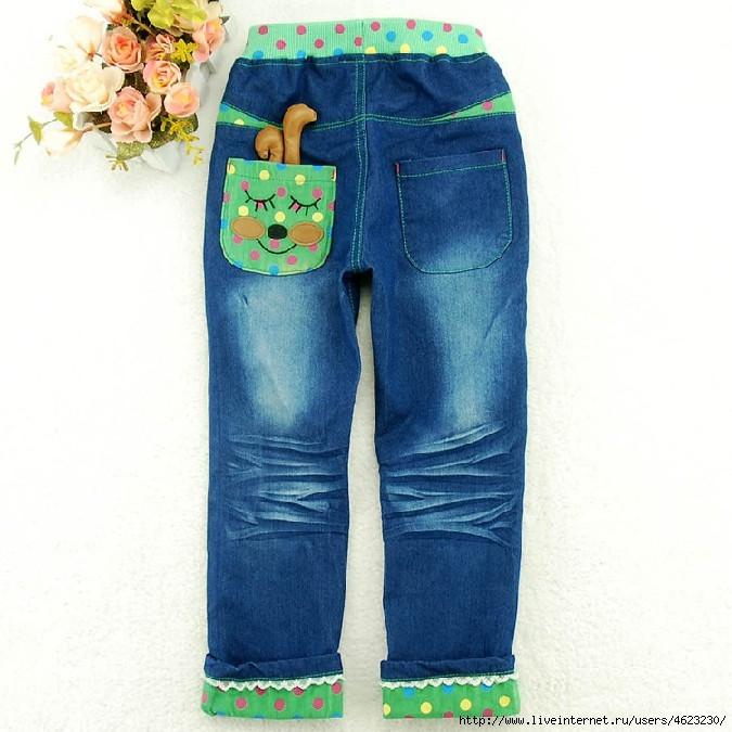 Как удлинить детские джинсы своими руками 97