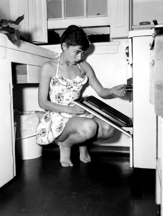 Одри Хепбёрн, вторая половина 1950-х годов