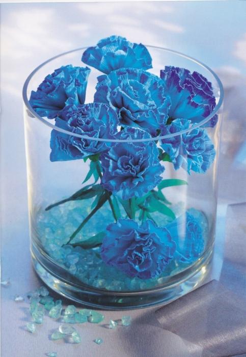 Цветы из креповой (гофрированной) бумаги - журнал (20) (483x700, 263Kb)