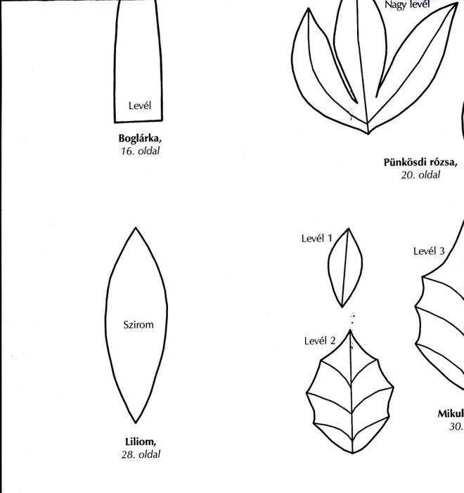 Цветы из креповой (гофрированной) бумаги - журнал (40) (660x700, 87Kb)