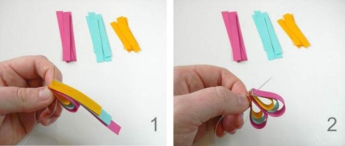 Как сделать красивую заколку из ленты своими руками