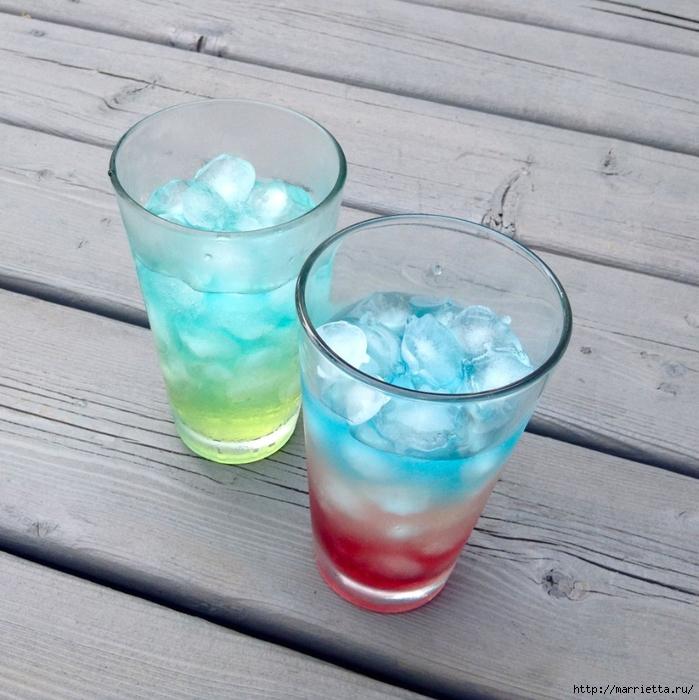 Красивые радужные безалкогольные освежающие напитки (2) (699x700, 320Kb)