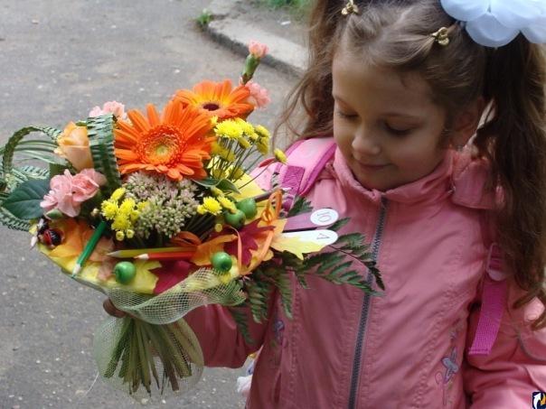 Букеты к 1 сентября своими руками из хризантем фото 355