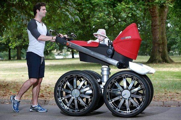 коляска для серьезных малышей (604x402, 175Kb)