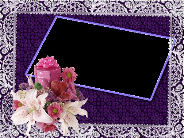 Сборник рамок для фотографий (файлы PNG и PSD)