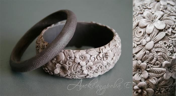 Полимерная глина своими руками браслет