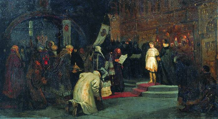 1067597_1886_Prizvanie_Mihaila_Fedorovicha_na_carstvo (700x384, 59Kb)