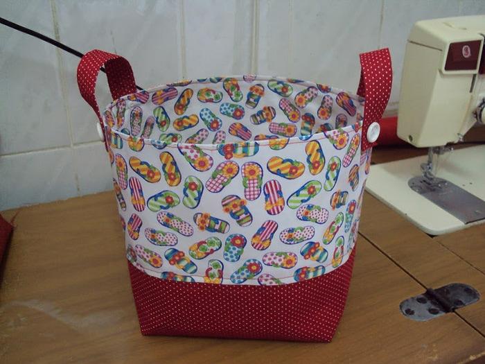 Коробочка из ткани мастер класс