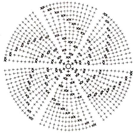 шляпа схема (459x450, 164Kb)