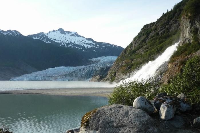 ледник менденхолл аляска фото 1 (700x466, 222Kb)