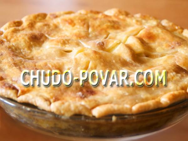 Быстрый и вкусный пирог с яблоками рецепт пошагово в духовке