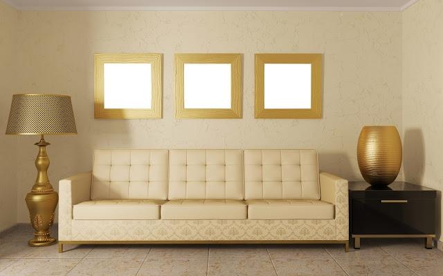 золотой цвет в интерьере фото 7 (640x400, 126Kb)