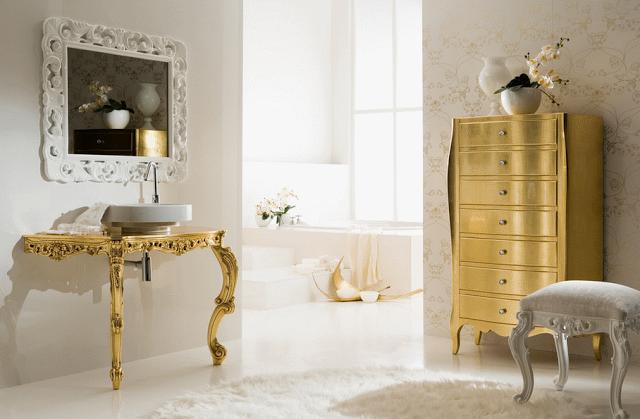 золотой цвет в интерьере фото 8 (640x419, 415Kb)