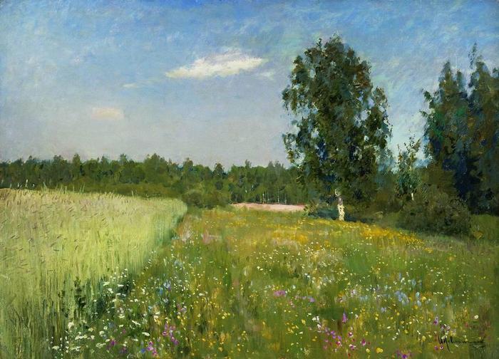 Июньский день (Лето). 1890-е (700x504, 66Kb)