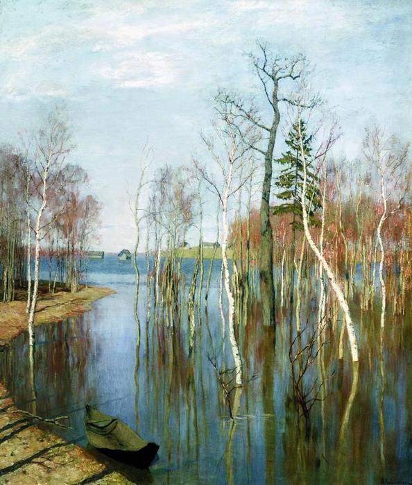 Весна. Большая вода. 1897 (594x700, 79Kb)
