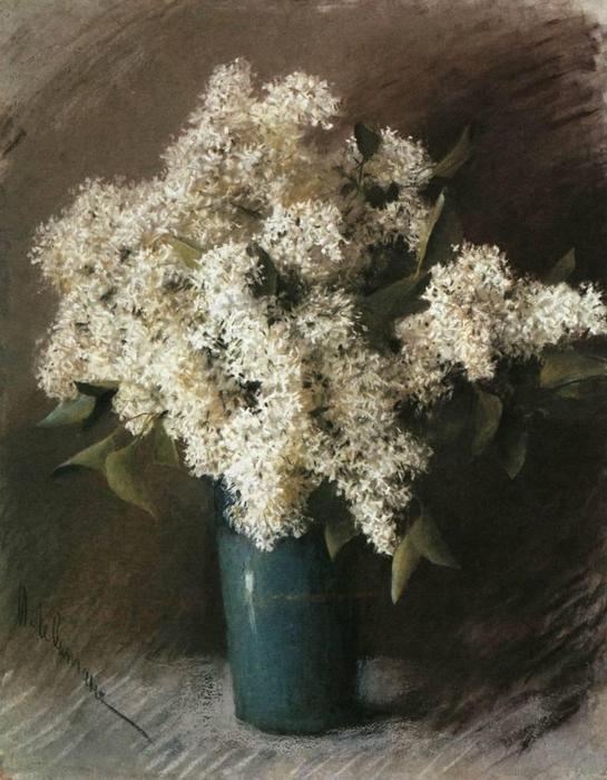 Белая сирень. 1895 (545x700, 62Kb)