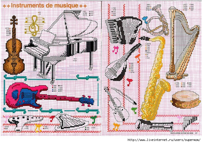 Instruments de musique (700x495, 382Kb)