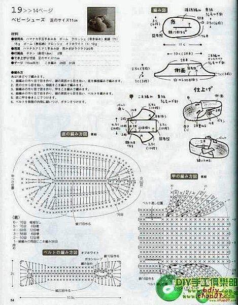 Схемы по вязанию пинеток для мальчика крючком
