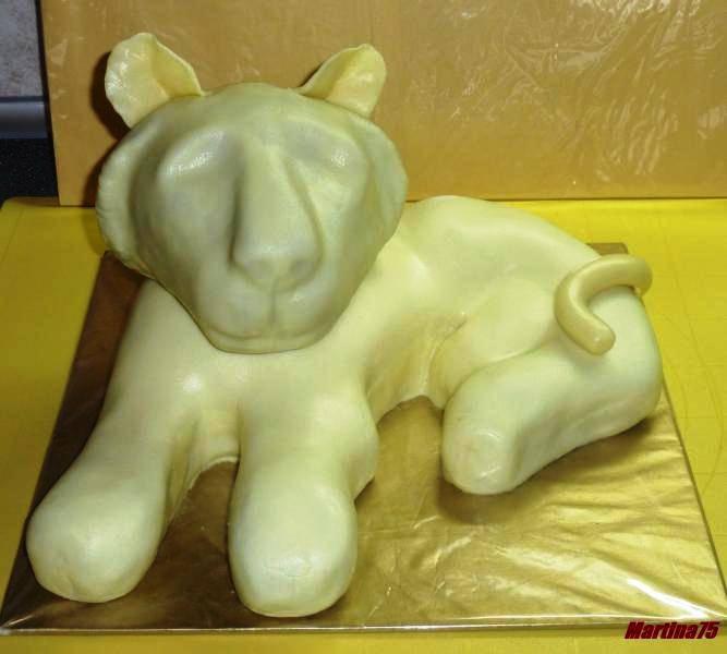 ТИГР - 3D торт из марципана. Мастер-класс (11) (667x600, 126Kb)