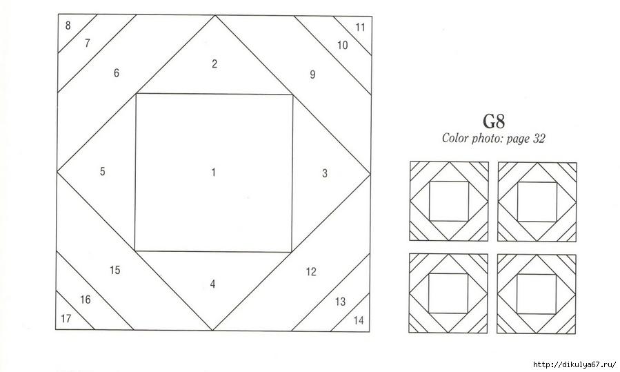 Пэчворк для начинающих схемы с размерами