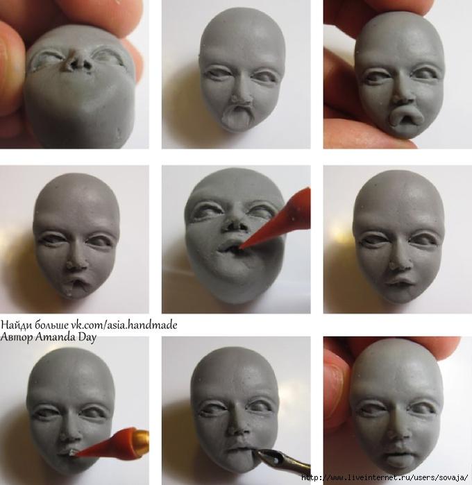 Мастер класс по лепке шарнирной куклы - Stroy-lesa11.ru