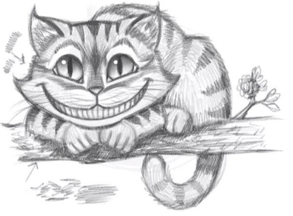 Картинки арт чеширский кот
