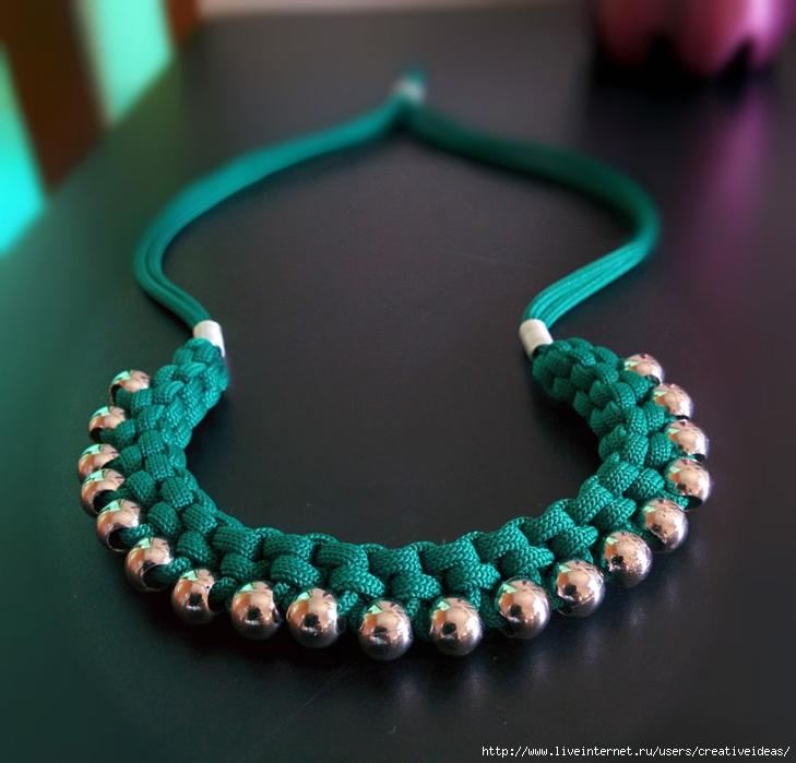 Ожерелье бусин своими руками