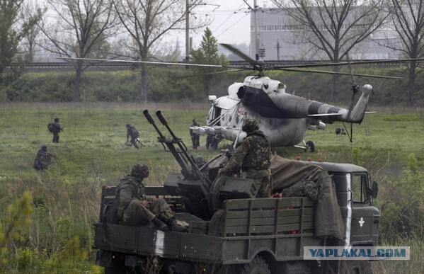15 35 войска хунты на окраине славянска