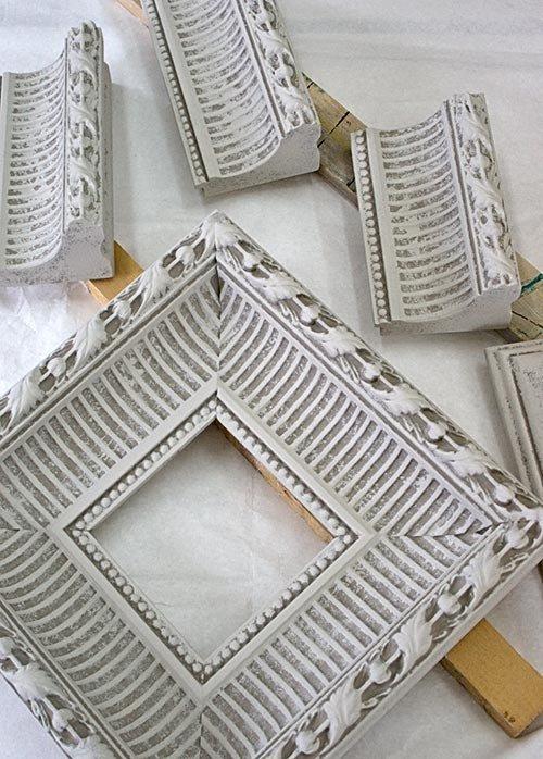 Los marcos de las molduras del techo de yeso (3) (500x698, 288Kb)
