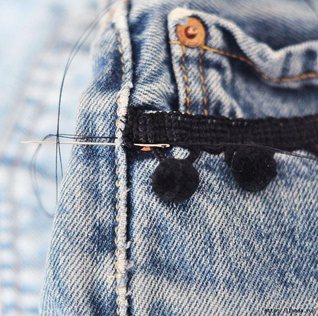 DIY-Pom-Pom-Jeans-Embellished-Vintage-Levis-4 (640x635, 336Kb)