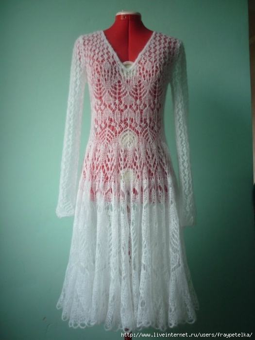 платье спицы (525x700, 191Kb)