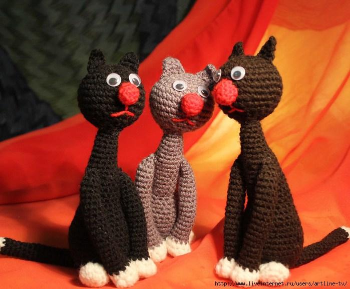 Коты -1-3 (700x577, 208Kb)