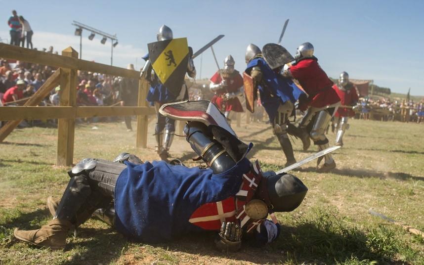 Средневековая битва