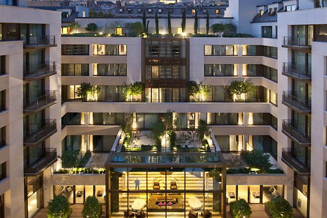 парижский отель Mandarin Oriental 18 (660x440, 328Kb)