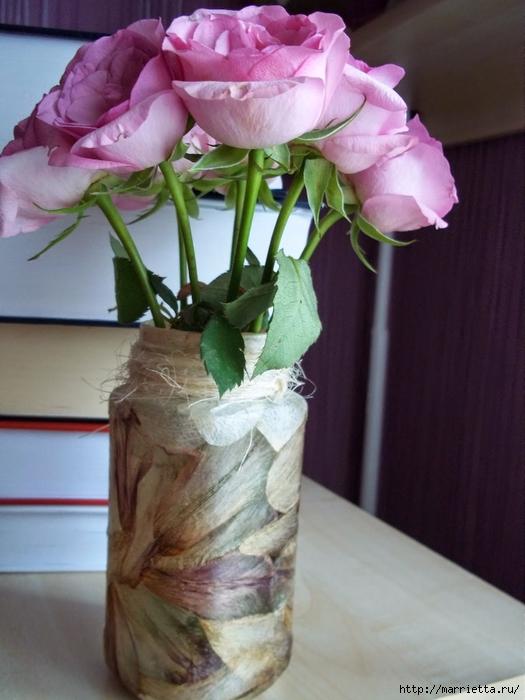 Декорирование сухими лепестками цветов (1) (525x700, 240Kb)