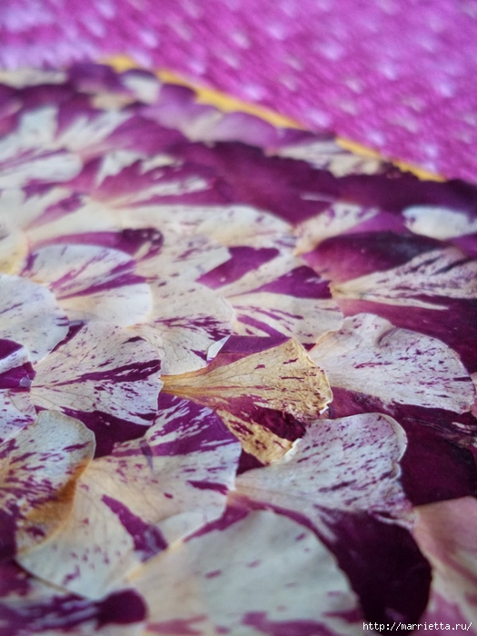 Декорирование сухими лепестками цветов (5) (525x700, 268Kb)
