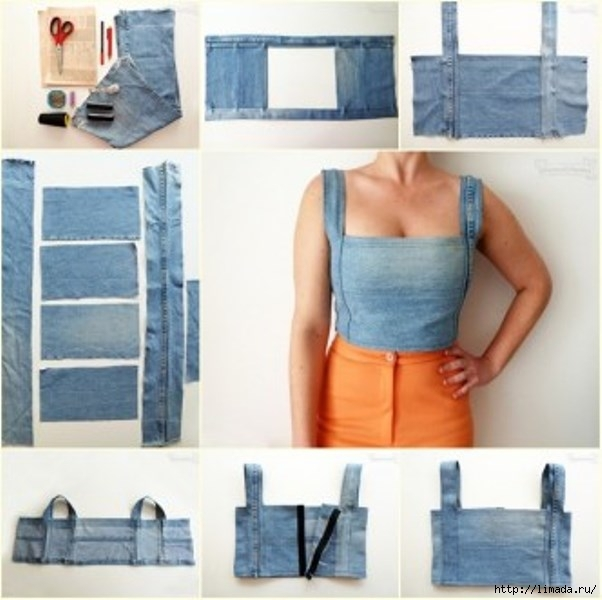 DIY-Sexy-Crop-Top-from-Old-Jean-332x331 (602x600, 153Kb)