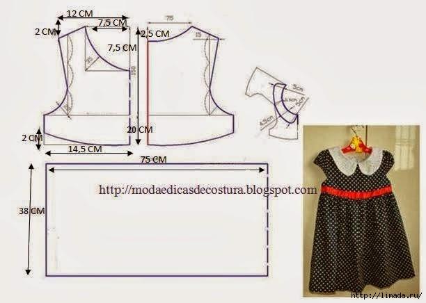чувствительный платье для девочки 6 месяцев выкройка своими руками делать если