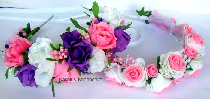 венки розовые лва (700x332, 318Kb)