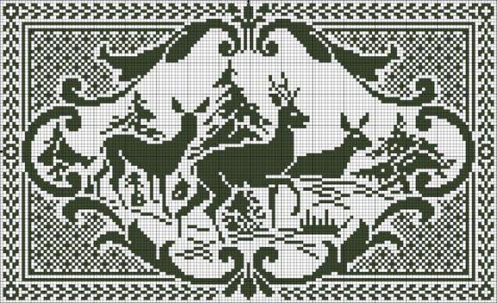 1-1олень-в-лесу (700x427, 108Kb)