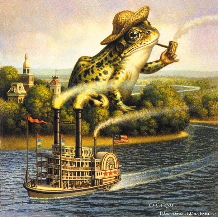 700riverboatfrog (700x696, 518Kb)
