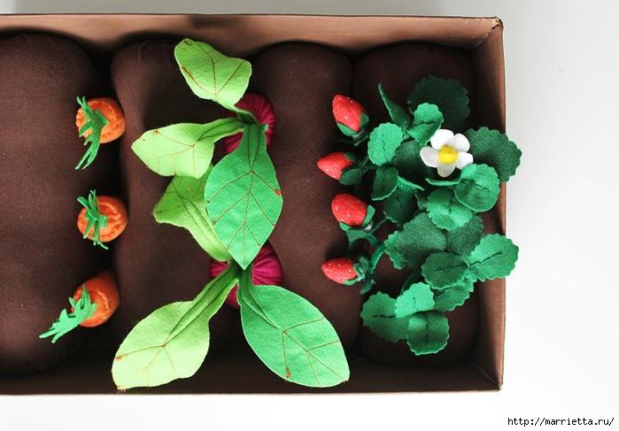 Фетровая грядка с ягодами и овощами (8) (700x487, 214Kb)
