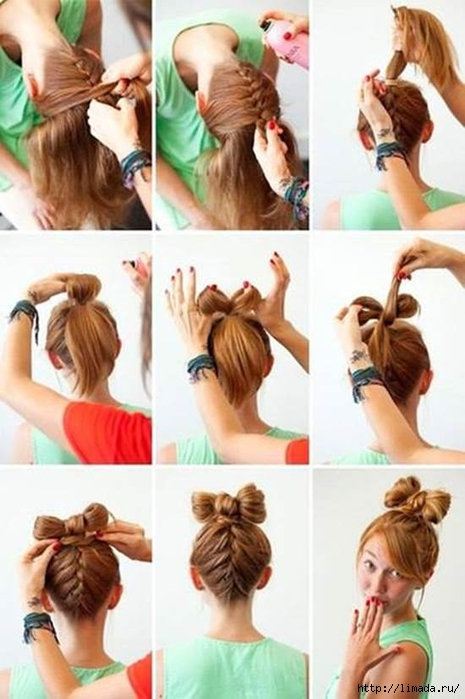 How-to-Make-Upside-Down-Braided-Bow-Bun-Hairstyle (465x700, 213Kb)