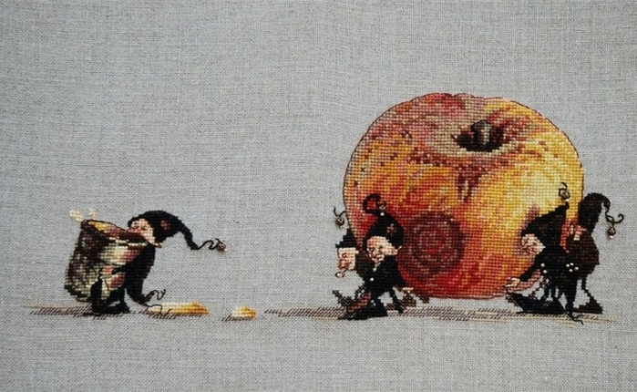 Stitchart-apple0 (700x430, 246Kb)