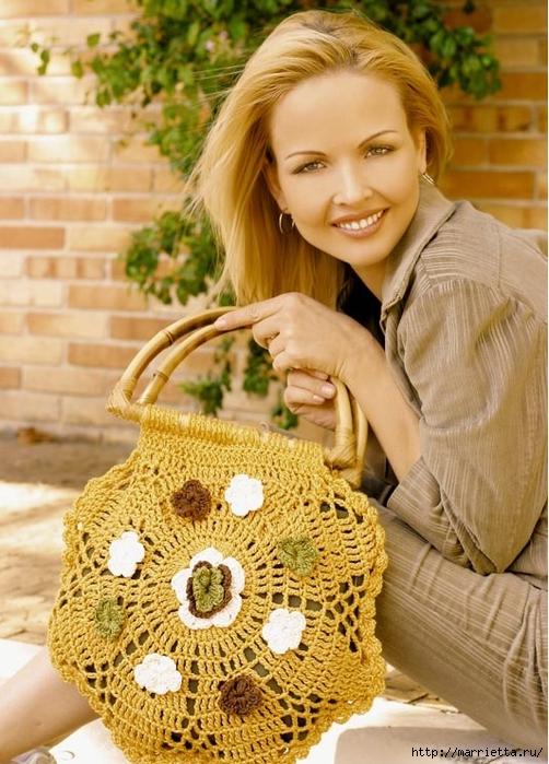Летняя сумочка крючком. Схема (3) (502x700, 306Kb)