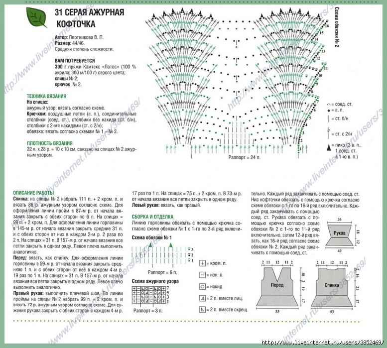 Мамочкин канал вязание крючком схемы 97